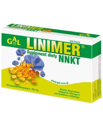 GAL Linimer NNKT 700mg 60 kapsułek