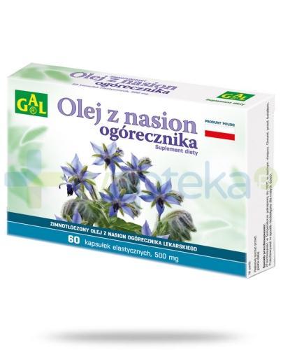 Gal Olej z nasion ogórecznika lekarskiego 60 kapsułek