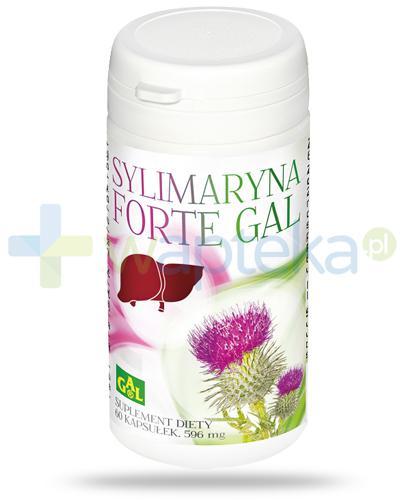 GAL Sylimaryna Forte 596mg 60 kapsułek