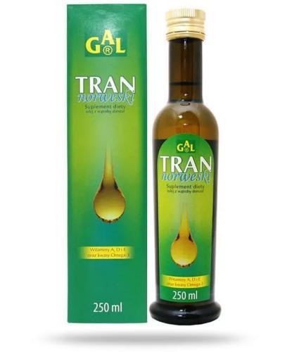 GAL Tran norweski naturalny 250 ml