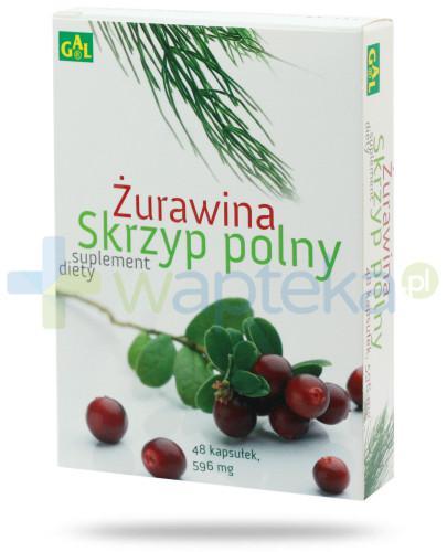 GAL Żurawina + Skrzyp Polny 48 kapsułek