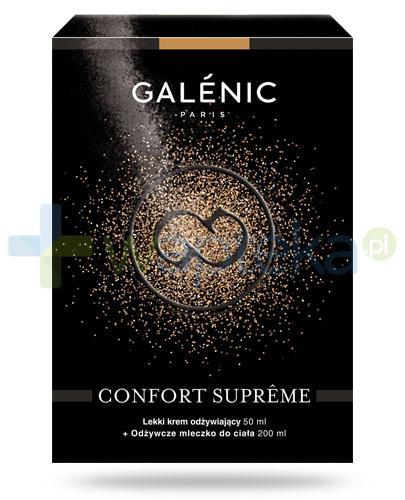 Galenic Confort Supreme lekki krem odżywczy do skóry suchej 50 ml + odżywcze mleczko do ciała 200 ml [ZESTAW]