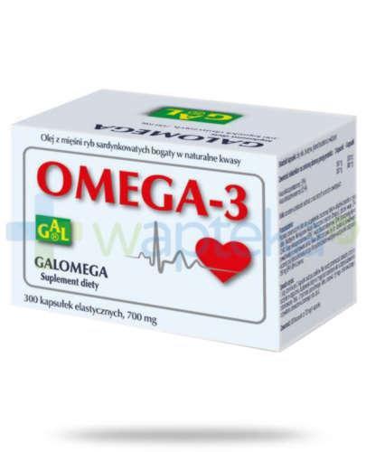 GAL Galomega-3 300 kapsułek