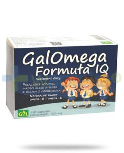 Galomega Formuła IQ 150 kapsułek