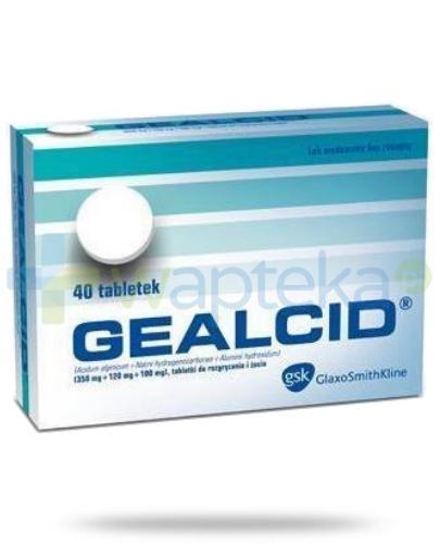 Gealcid 40 tabletek