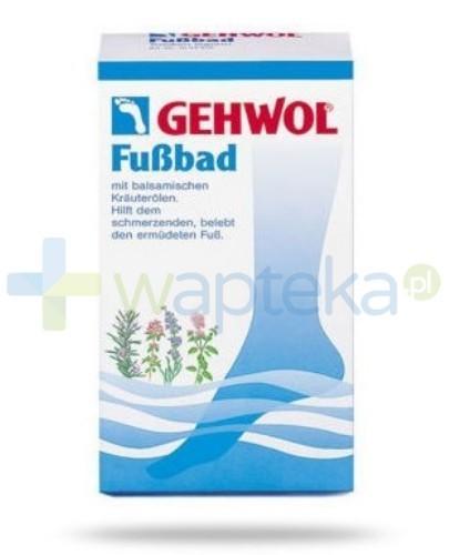 GEHWOL FUSSBAD Koncentrat do kąpieli stóp z Lawendą 10 sztuk 20g