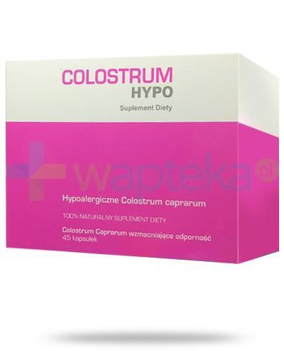 Colostrum Hypo hypoalergiczne colostrum caprarum 45 kapsułek