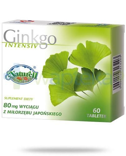 Ginkgo Intensiv 80mg 60 tabletek