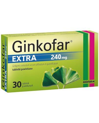 Ginkofar Extra 240mg 30 tabletek