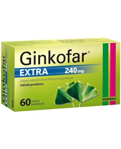Ginkofar Extra 240mg 60 tabletek