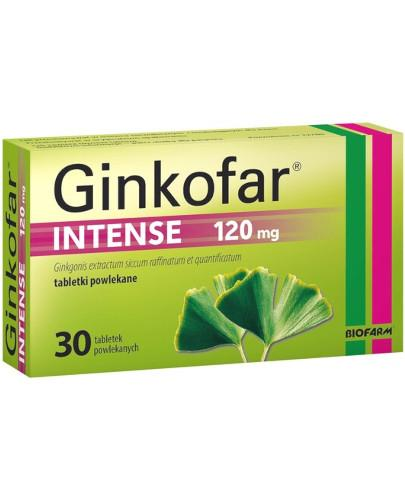 Ginkofar Intense 120mg 30 tabletek