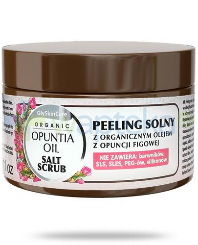 GlySkinCare Opuntia Oil peeling solny z organicznym olejem z opuncji figowej 400 g