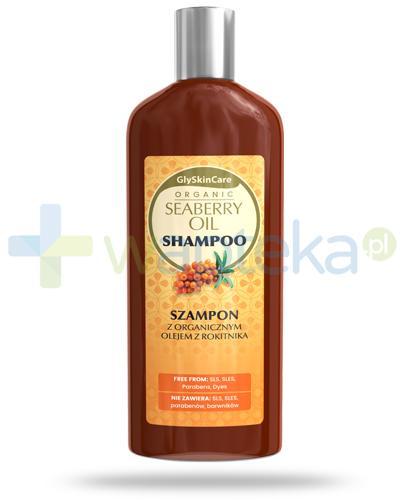 GlySkinCare Seaberry Oil szampon z organicznym olejem z rokitnika 250 ml