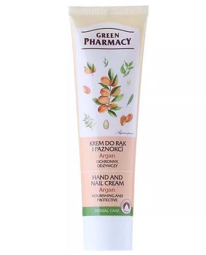 Green Pharmacy Argan krem do rąk i paznokci ochronny odżywczy 100 ml Elfa Pharm
