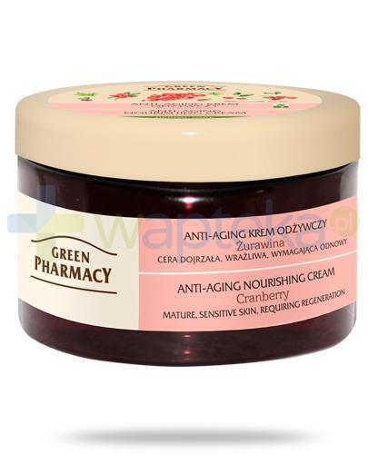 Green Pharmacy Herbal Care anti-aging krem odżywczy Żurawina 150 g Elfa Pharm