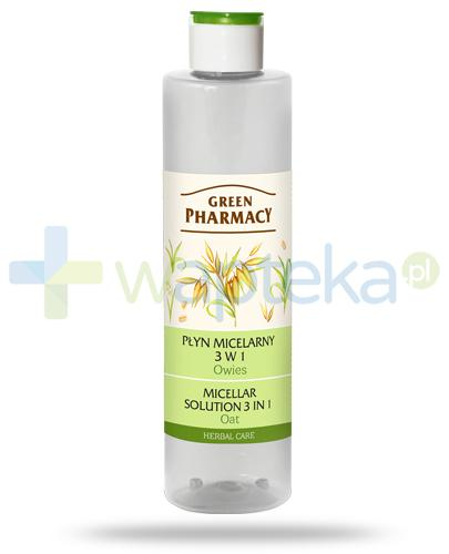 Green Pharmacy Herbal Care płyn micelarny 3w1 Owies 250 ml Elfa Pharm
