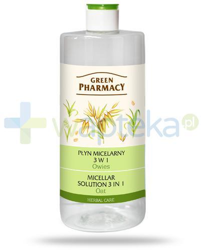 Green Pharmacy Herbal Care płyn micelarny 3w1 Owies 500 ml Elfa Pharm