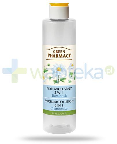 Green Pharmacy Herbal Care płyn micelarny 3w1 Rumianek 250 ml Elfa Pharm