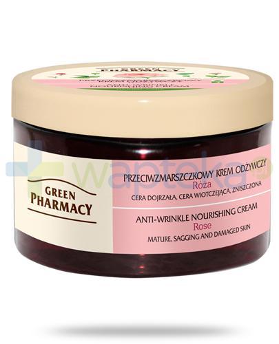 Green Pharmacy Herbal Care przeciwzmarszczkowy krem odżywczy Róża 150 g Elfa Pharm