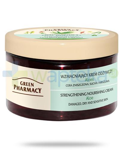 Green Pharmacy Herbal Care wzmacniający krem odżywczy do twarzy Aloes 150 ml Elfa Pharm