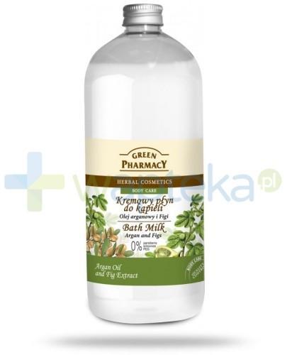 Green Pharmacy Kremowy płyn do kąpieli Olej arganowy i Figi 1000 ml Elfa Pharm