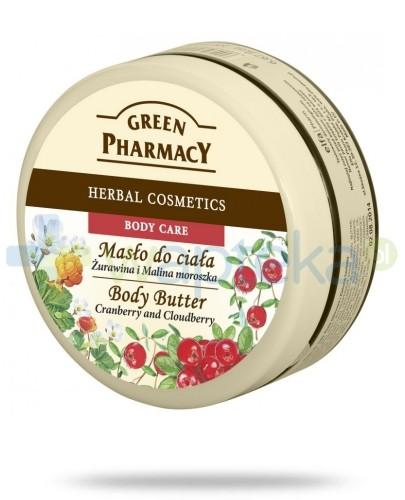 Green Pharmacy Masło do ciała Żurawina i Malina Moroszka 200 ml Elfa Pharm