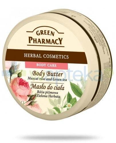 Green Pharmacy Masło do ciała Róża Piżmowa i Zielona Herbata 200 ml Elfa Pharm