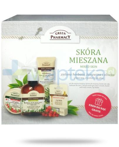 Green Pharmacy Mixed Skin kosmetyki do skóry mieszanej 4 sztuki [ZESTAW]