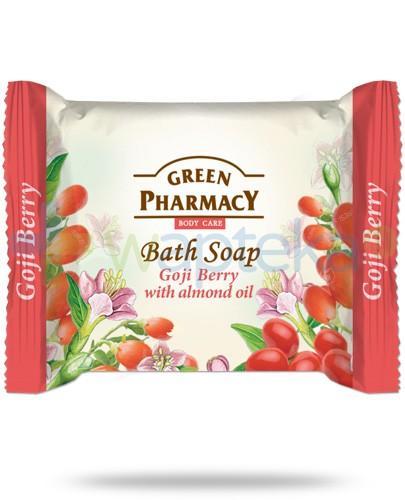 Green Pharmacy mydło taletowe jagody goji olej migdałowy 100 g Elfa Pharm