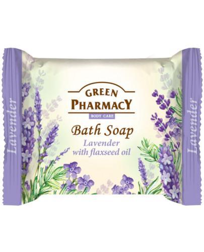 Green Pharmacy mydło toaletowe lawenda olej lniany 100 g Elfa Pharm