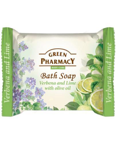 Green Pharmacy mydło toaletowe werbena limonka oliwa z oliwek 100 g Elfa Pharm