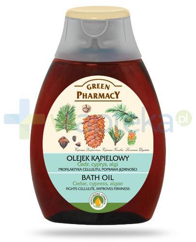 Green Pharmacy olejek kąpielowy cedr cyprys algi 250 ml Elfa Pharm