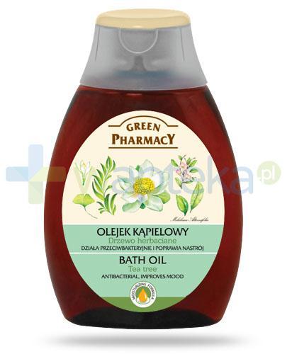 Green Pharmacy olejek kąpielowy drzewo herbaciane 250 ml Elfa Pharm