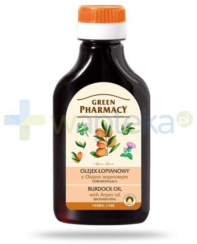 Green Pharmacy olejek łopianowy z olejem arganowym - odbudowujący 100 ml Elfa Pharm