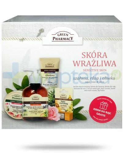 Green Pharmacy Sensitive Skin kosmetyki do skóry wrażliwej 4 sztuki [ZESTAW]