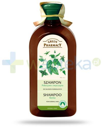 Green Pharmacy Szampon do włosów normalnych Pokrzywa zwyczajna 350 ml Elfa Pharm