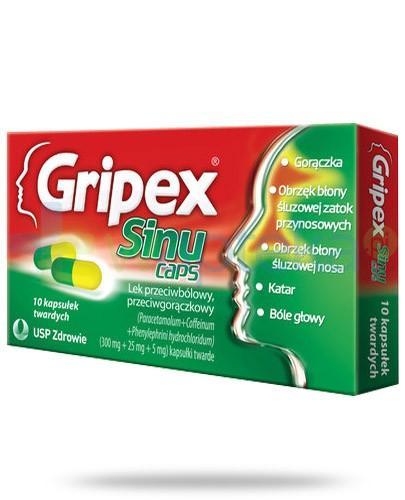 Gripex SinuCaps 10 kapsułek
