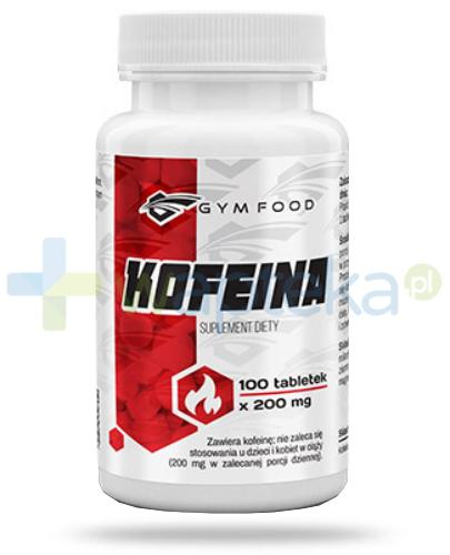 Gym Food Kofeina 100 tabletek