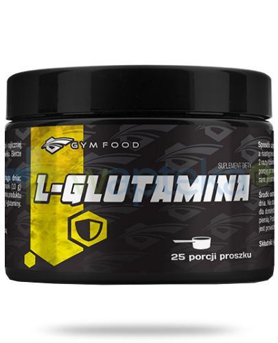 Gym Food L-Glutamina proszek 250 g