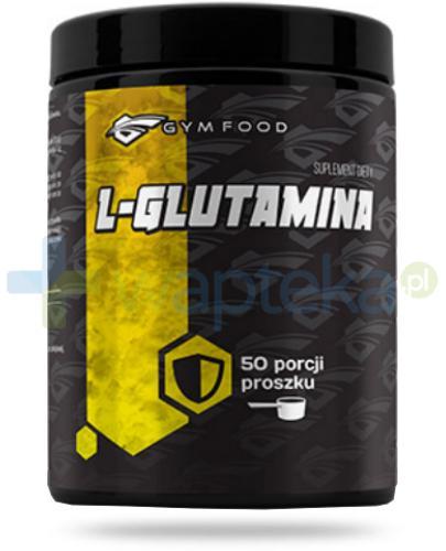 Gym Food L-Glutamina proszek 500 g