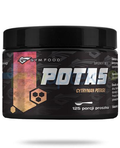 Gym Food Potas cytrynian potasu proszek 331,25 g