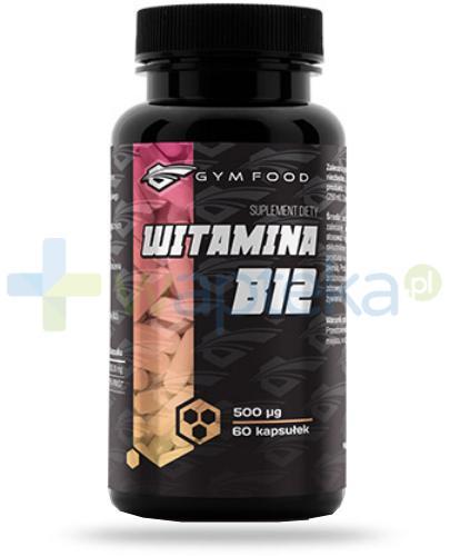 Gym Food Witamina B12 60 kapsułek