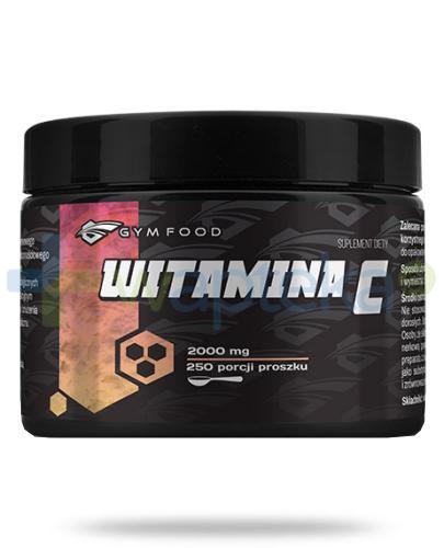 Gym Food Witamina C 2000 mg proszek 500 g