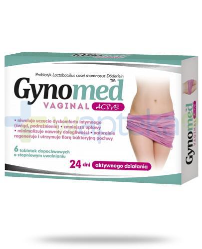 Gynomed Vaginal Active 6 tabletek