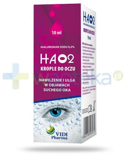 Ha02 hialuronian sodu 0,2% krople do oczu 10 ml