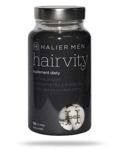 Halier Men Hairvity zdrowe włosy od wewnątrz 60 kapsułek