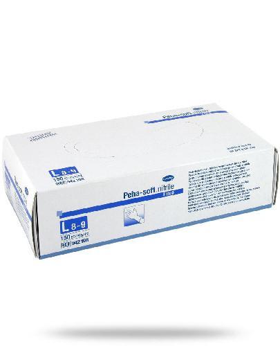 Hartmann Peha-Soft Nitrile Fino rękawice nitrylowe bezpudrowane rozmiar L 150 sztuk