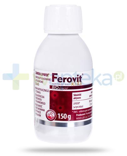Hasco Ferovit Bio Special Kids płyn 150 g