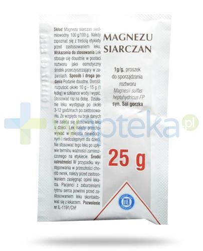 Hasco Magnezu Siarczan 1g/g proszek do sporządzania roztworu 25 g