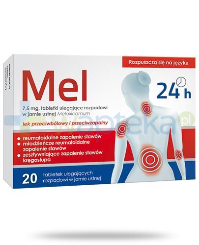 Hasco Mel 7,5mg Meloxicamum, 20 tabletek